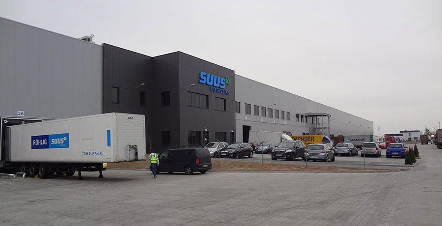Hala SUUS Logistics w Tarnowie