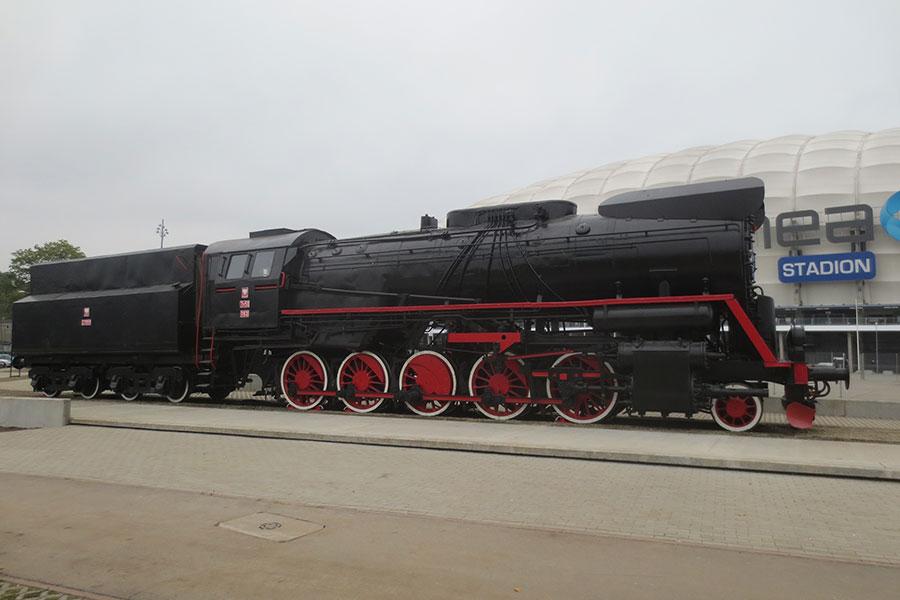 Stacja peron Bułgarska 17 LOKOMOTYWA